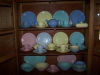 This is for a set of vintage Luray Pastels dishes from