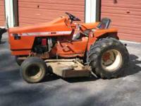 For Sale: 1972 Allis chalmers 616 utility tractor with