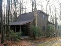 Comfortable log cabin situateded in the woods