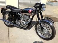 1961 BSA Gold Star DBD 34 500cc single Clubmans. The