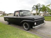 62 Ford F100. unibody reduced on a 1978 ranchero