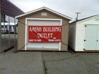 We sell Amish built Vinyl and Wood buildings, built