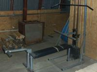 We have an older 6200 Gym Pac home gym system, it says