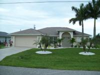 Spacious home located in a quiet area of SE Cape Coral.