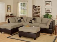 Most Asked For! * The Empire 3pc. Sectional Sofa Set