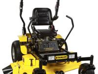 The STANLEY 62 in. Zero Turn Heavy Duty Mower is for