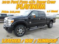 2013 Ford F250 4x4 Super Crew PlatinumFriendly Ford2425