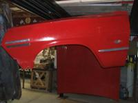 This is a 63 Chevy Impala Hood. It is in great