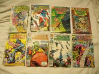 I am offering the 63 comic books listed below for a