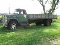63 International Dump Truck for sale with 16 foot flat