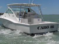 2011 Cabo Yachts 36 Express Emerging from the acclaimed