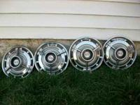 OEM '64-'65 SS Impala hubcaps not perfect but very