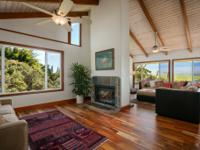 Perched on a knoll with incredible Mauna Kea views,