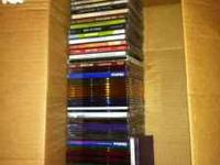 Some scratched, some copies, some originals! Great CDs