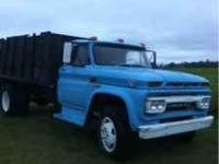 64 GMC 4000. 16 ft dump bed. 4 speed with two speed