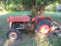 Complete 64 135 Massey. Engine runs but needs top end