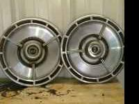 A SS impala hubcap for $40 and a front bumper pa rt for