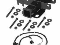 2 inch Receiver Hitch and Wiring Harness Kit for 2007