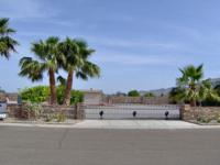 View lot in Foothills estates with 4 fruit trees,6 palm