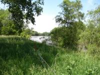 This river front land has 7.38 of usable acres, the