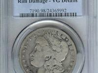 "1889 is the ""Key Date"" to the Carson City Morgan Dollar"