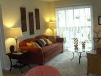 This amazing apartment home has hardwood look flooring,