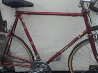 I have a 64cm men's Schwinn World sport road bike
