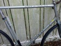 I have a Schwinn Super Letour road bike for sale. This