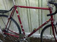 I have a 64cm Worldsport roadway bike for sale. This
