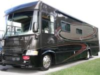 2007 37' GULFSTREAM SUN VOYAGER LUXURY MOTOR HOME,
