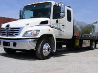 2010 Hino 258 ALP Ext Cab Flatbed 2010 Miller LCG Steel