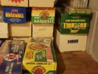 I have 65 boxes of baseball cards from 1986-1990 & 50