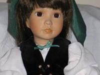 Christina Merovina is an American Diary procelain Doll,