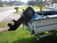 65 HP MERCURY OUTBOARD engine. Good Includes all