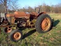 model 65 Massey LP tractor- P/S= runs good - good rear