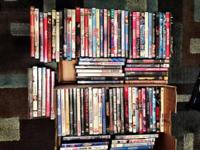We have a ton of movies for sale.  65 to be exact as of