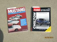 "Chilton's repair book 64-73 Mustang ""The affordable"