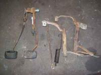 bunch of stick parts for early mustang 2 bellcranks