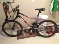 I have a Giant Yukon FX Mtn. bike, its full suspension,