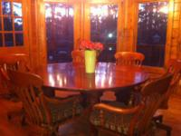 Bob Timberlake table and chairs. Very well made. We