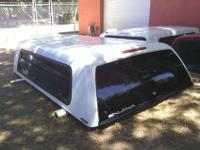 GREAT SHAPE, SNUG TOP XTRA VISION CAMPER SHELL THAT