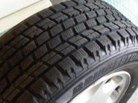 Bridgestone Blizzak Snow Tires & OEM Rims for Mercedes