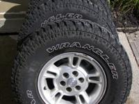 2000 Dodge Dakota wheels and tires. Tires and Goodyear