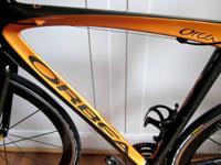 * 56/57cm full carbon fiber frame & fork.  * complete