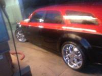 I HAVE FOR SALE A SET OF USED 22 INCH BENTCHI RIMS THEY