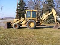 I HAVE 86 FORD 655 BACKHOE HAS CAB AN HEAT AN RUST BUT