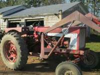 I have a 656 Farmall with a loader not sure what brand