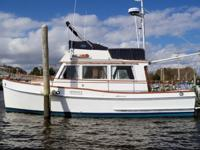 This 32? Grand Banks 1974 is located in Guilford, CT.