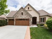 Beautiful Custom Patio Home in Columbine Valley! This