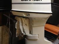 Wonderful trustworthy 65 hp Johnson outboard electric